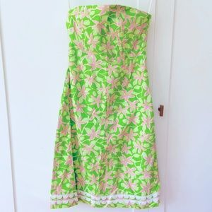 Lilly Pulitzer Chilean Ave strapless dress - 4